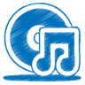 blue-music-cd-icon