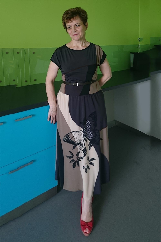 платье своими руками, трикотажный бум