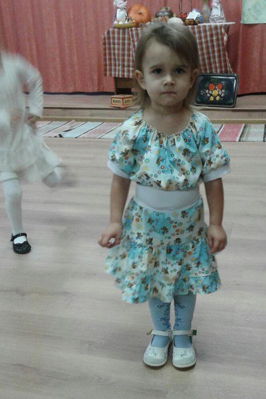 сшить платье дочери