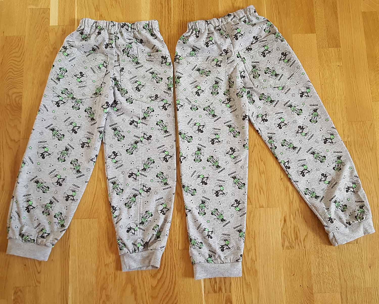 детские штанишки из трикотажа