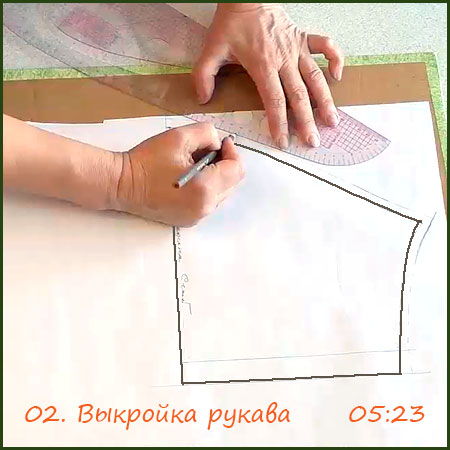 2-Выкройка-рукава