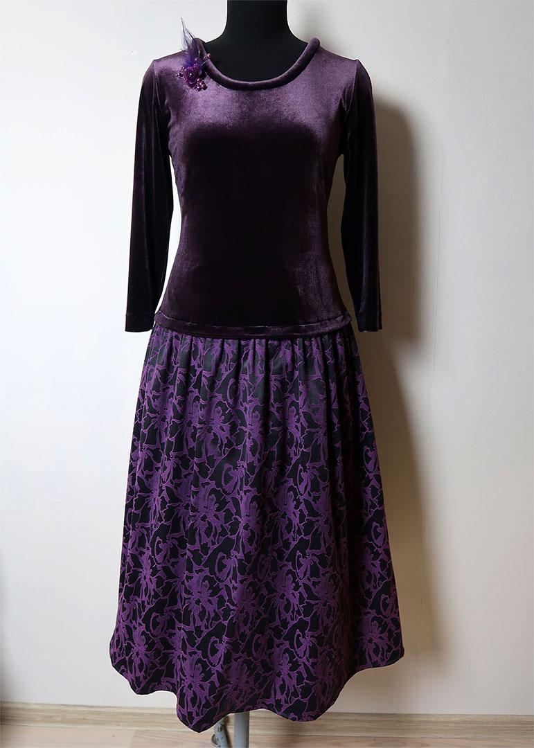 платье из бархата своими руками