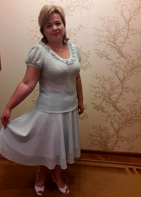 юбка и блузка по 3 меркам