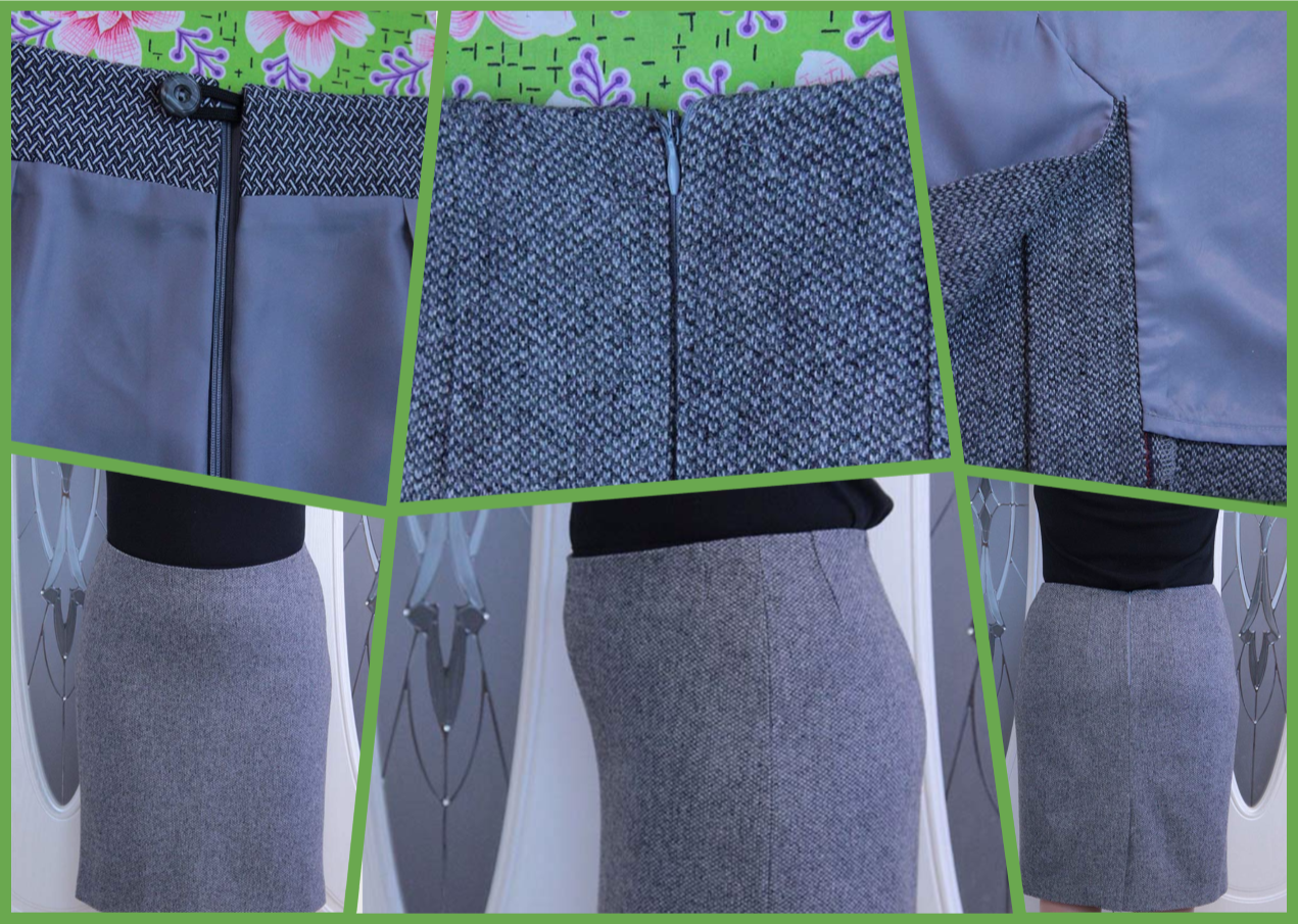 юбка без пояса